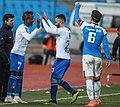 Mensha first game for Esteghlal.jpg