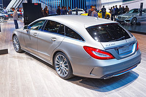 Mercedes CLS 350 BlueTEC 4matic - Mondial de l'Automobile de Paris 2014 - 005.jpg
