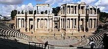 Một nhà hát La Mã cổ ở Mérida