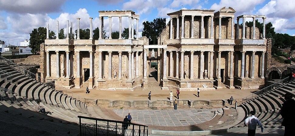 Merida Roman Theatre1