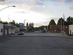 Downtown Merrillan