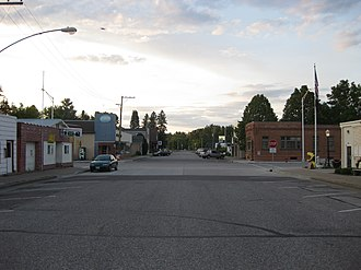 Merrillan, Wisconsin - Downtown Merrillan