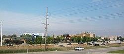 Merrillville's skyline in May 2012