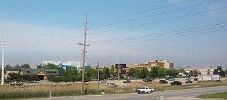 Merrillville, Indiana - Merrillville Skyline