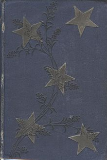 "First edition cover for ""The Merry Men and Other Tales and Fables"" printed by Chatto and Windus 1887."