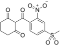 Mesotrione chemical structure.png