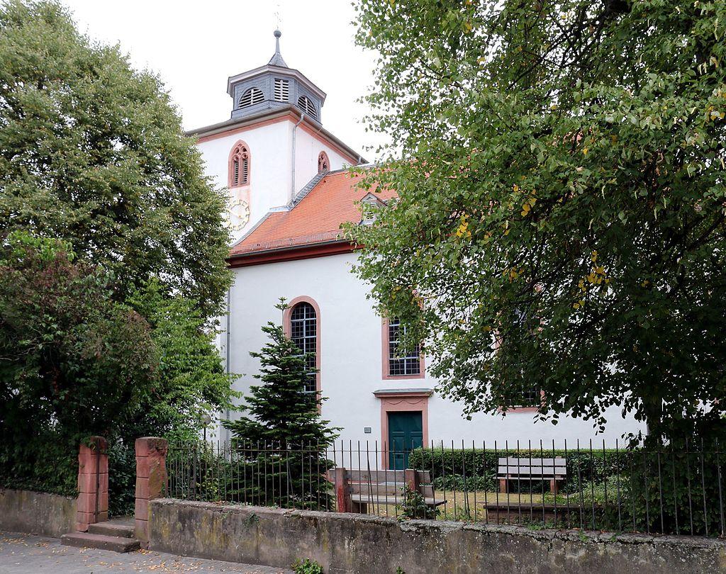 Evangelische Kirche in Messel, Langgasse 6