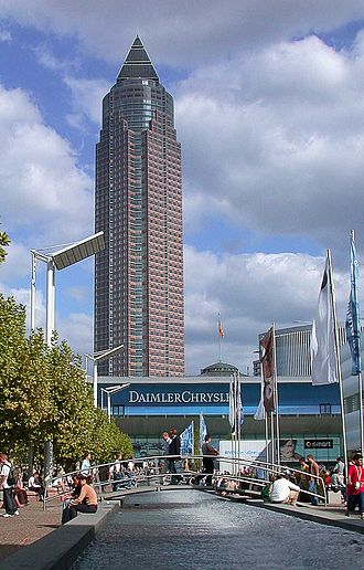 Westend (Frankfurt am Main) - Messeturm