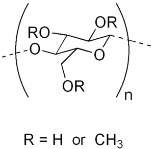 Methyl cellulose - Image: Methyl cellulose