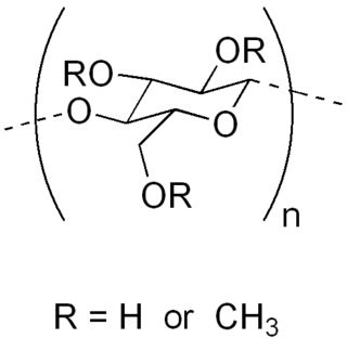 Methyl cellulose chemical compound