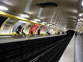Metro de Paris - Ligne 4 - Odeon 02.jpg