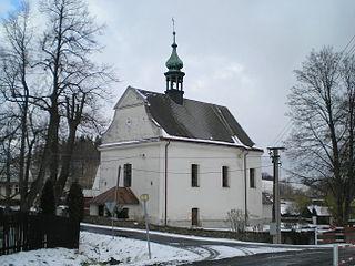 Mezina Village in Moravian-Silesian Region, Czech Republic