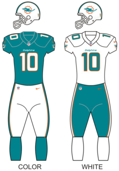 Miami Dolphins National Football League franchise in Miami, Florida