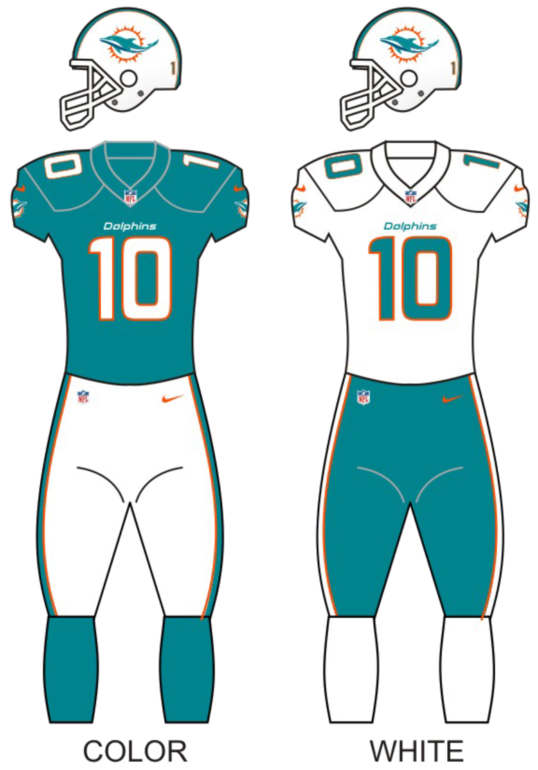 File:Miamidolphins uniforms13.png - Wikipedia  Dolphins