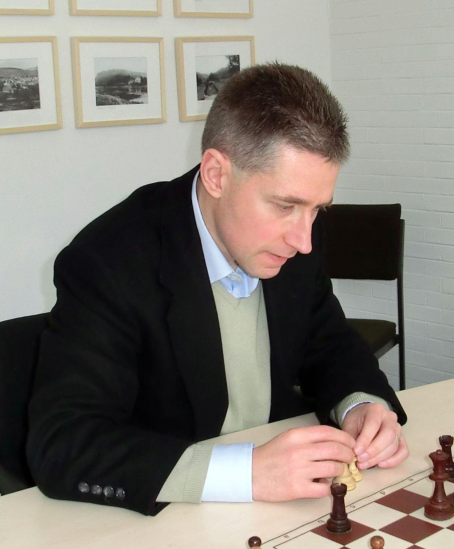 Michael Adams Schachspieler –