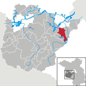 Michendorf - Image: Michendorf in PM