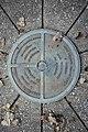 Michigan Meridian-Baseline State Park West Baseline Marker.jpg