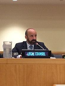 Miguel de Serpa Soares, der derzeitige Leiter des Rechtsbüros der Vereinten Nationen