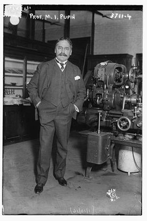 Mihajlo Pupin - Mihajlo Pupin in 1916