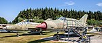 Mikoyan-Gurevich MiG-21 US (back), MF (front) (43774357662).jpg