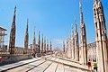 Milano - Roof of Duomo - panoramio.jpg