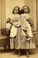 Millie and Christine McKoy by Fitzgibbon, 1867 (cropped).png