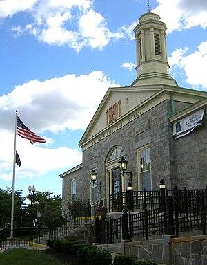 United States Post Office–Milton Main - Image: Milton MA Main Post Office 03