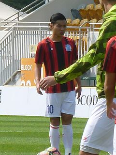 Min Junlin Chinese footballer