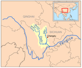 Dadu River (Sichuan) - Wikipedia, the free encyclopedia