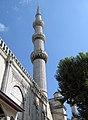 Minaret Sultan Ahmet Mosque.JPG