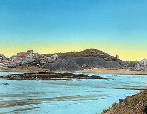 Cobalt, Ontario - Silver mines in Cobalt, around 1918