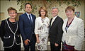 Minister Varadkar and Joan Burton open AMA unit at Connolly Hospital, July2014.jpg