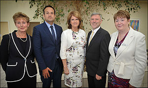 Leo Varadkar - Varadkar at the opening of a unit at Connolly Hospital, Blanchardstown, July 2014