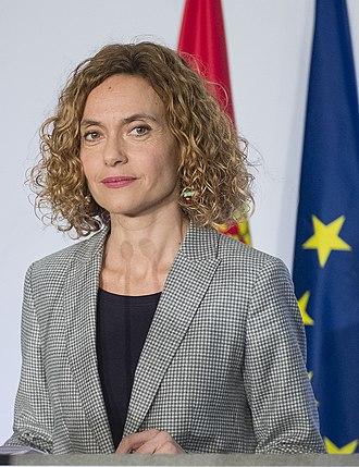 Meritxell Batet - Image: Ministra Batet 2018