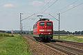 Mintraching (Oberpfalz) Bahnlinie Regensburg-Passau Durchfahrt von OT Mangolding.JPG