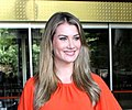 Miss World 2015 Mireia Lalaguna snapped at the Bombay International airport.jpg
