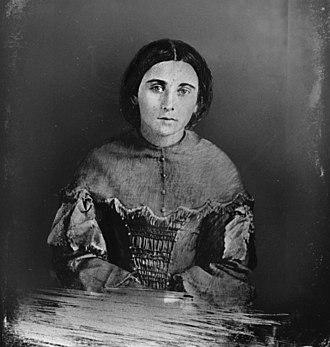 Zoé Laurier - Portrait of Miss Zoë Lafontaine.