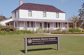 History of New Zealand - The Mission House at Kerikeri is New Zealand's oldest surviving building, having been completed in 1822