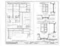 Mission Santa Barbara, 2201 Laguna Street, Santa Barbara, Santa Barbara County, CA HABS CAL,42-SANBA,5- (sheet 13 of 30).png