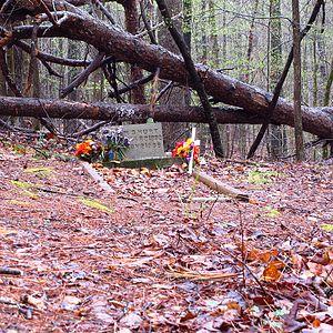 Mississippi John Hurt - Hurt's grave