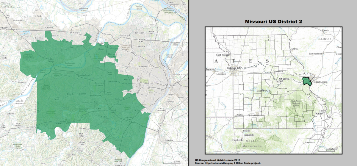 Missouri\'s 2nd congressional district - Wikipedia