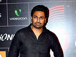 Mithoon at the 4th Gionnee Star Global Indian Music Academy Awards.jpg
