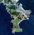 Miura Peninsula Kanagawa Japan SRTM.jpg