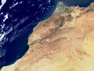 Photo Satellite du Maroc