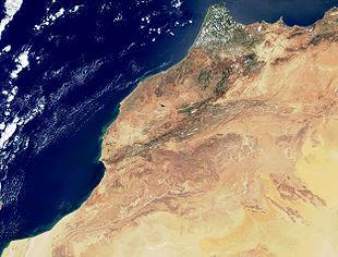Cartina Fisica Del Marocco.Geografia Del Marocco Wikipedia