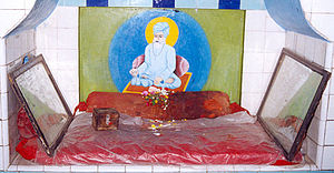 Sheikh Muhammad - The shrine of Sheikh Muhammad, containing his seat, in his hometown of Shrigonda
