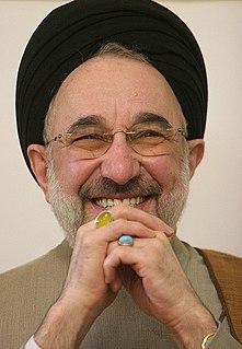 Mohammad Khatami Iranian prominent reformist politician, scholar and shiite faqih