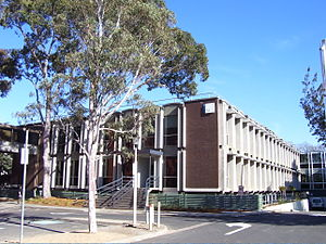 Monash University, Clayton campus - The Chancellory (building 3a)