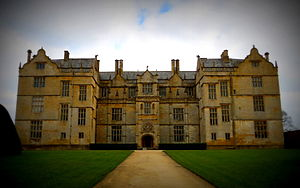 Montacute House - The entrance facade
