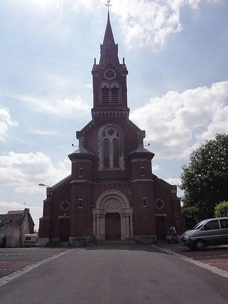 Montbrehain (Aisne) église